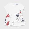 MAYORAL basic dievčenské tričko 1088-055