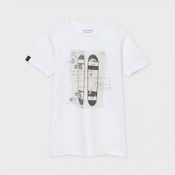 MAYORAL chlapčenské letné tričko 6089-024 white