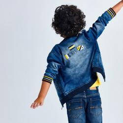 MAYORAL chlapčenský rifľový kabátik 3407-019