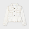 Zdobený rifľový kabát MAYORAL 3479-067