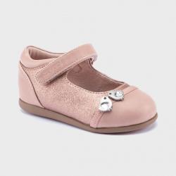 Ružové dievčenské balerínky MAYORAL 42124-027 rose