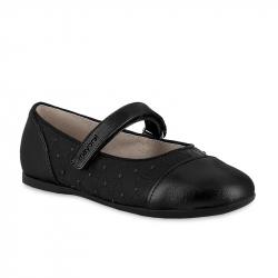 MAYORAL čierne dievčenské balerínky 44119-010 black
