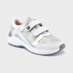 MAYORAL športová dievčenská obuv 44161-093 white/silv