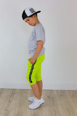 Chlapčenské bavlnené krátke nohavice COOL