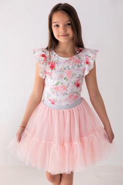 Dievčenská tylová sukňa