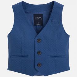 MAYORAL chlapčenská  elegantná vesta 3409-082 blue