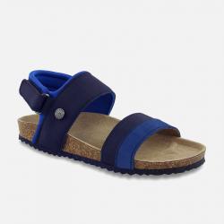 MAYORAL korkové kožené sandále 43941+45941-011 Ocean