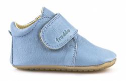 FRODDO prewalkers kožené capačky 1130005-3 light blue