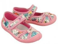 Dievčenská textilná obuv VIGGAMI IGA druk