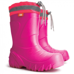 Detské čižmy do dažda a snehu MAMMUT ružové