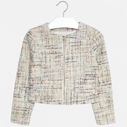 MAYORAL dievčenský  kabát 6408-072aqua