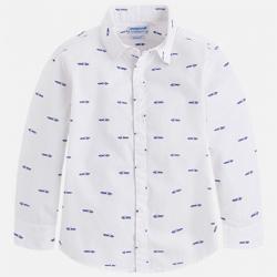 MAYORAL chlapčenská košeľa 3162-56 white