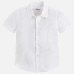 MAYORAL chlapčenská košeľa 139-014 white
