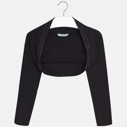 MAYORAL dievčenský sveter 6404-089 black