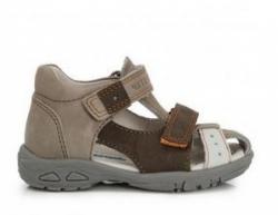 Sandále kožené  D.D.STEP AC290-7003 chocolate