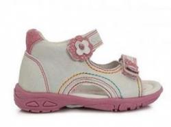D.D.STEP  letné sandále AC290-7007BM white