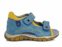 DD STEP celokožené letné sandále K330-4003 calypso sky