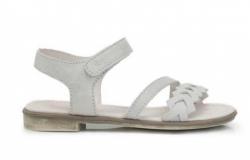 Dievčenské letné sandále D.D.STEP K356-6001BL white