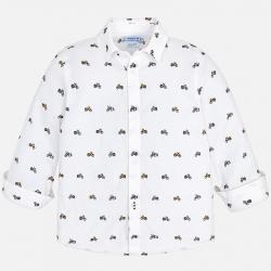 MAYORAL chlapčenská košeľa 4146-075 white