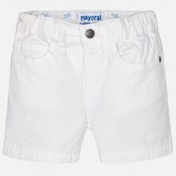 MAYORAL chlapčenské krátke nohavice 206-032 White