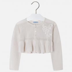 MAYORAL  dievčenský sveter 3300-041 champagne