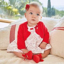 Šaty pre dievčatá MAYORAL1834-082 Poppy