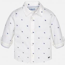MAYORAL chlapčenská košeľa 1168-028 White