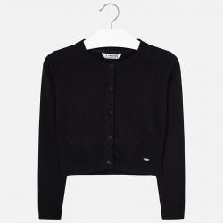 MAYORAL dievčenský sveter 326-074 black