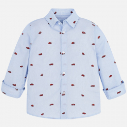 MAYORAL chlapčenská košeľa 4146-074 blue
