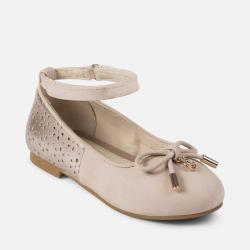 MAYORAL dievčenské balerínky 43869+45869-085 Rose