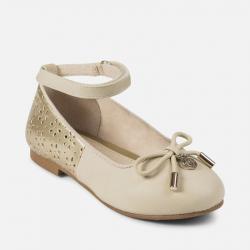 MAYORAL dievčenské balerínky 43869-086 beige
