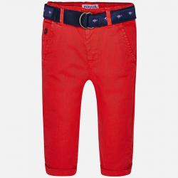 MAYORAL chlapčenské nohavice s opaskom 1540-010 granadine