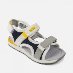 MAYORAL kožené sandále 43939+45939-043 Navy