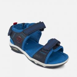 MAYORAL kožené sandále 43937-095 Navy