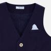 MAYORAL chlapčenská  elegantná vesta 3444-054 Blue