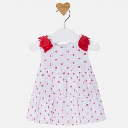 MAYORAL dievčenské šaty 1850-041 Poppy
