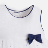 MAYORAL dievčenské šaty 1826-066 Navy