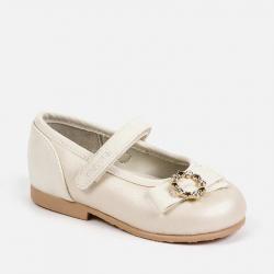 MAYORAL perleťové balerínky 41148-079 Pearl