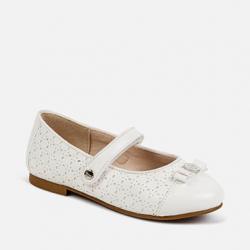 MAYORAL biele dievčenské balerínky 43143-069 White