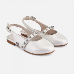 MAYORAL dievčenské balerínky 43151-092 white