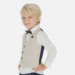 MAYORAL chlapčenská elegantná vesta 3438-074