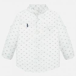 MAYORAL biela chlapčenská košeľa s motýlikom 1163-086