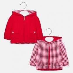 MAYORAL dievčenský obojstranný kabát 1476-049