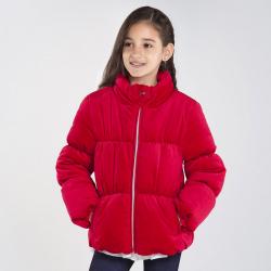 MAYORAL dievčenská zimná bunda 7411-011 carmin red