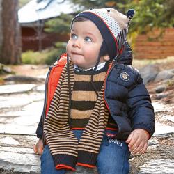 Chlapčenský prešívaný kabát  na zips MAYORAL 2487-060