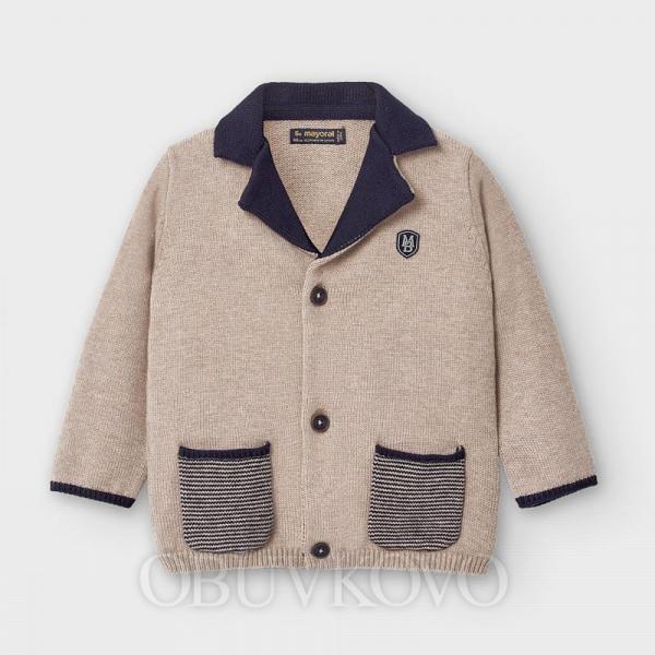 MAYORAL pletené sako kabátik 2476-021 mole