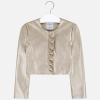 MAYORAL dievčenský kožený kabát 6457-051