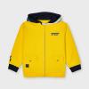Žltá mikina s kapucňou MAYORAL 3414-038