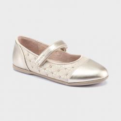 MAYORAL béžové dievčenské balerínky 44119-011 beige