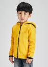 Chlapčenská mikina s kapucňou MAYORAL 4425-076 honey